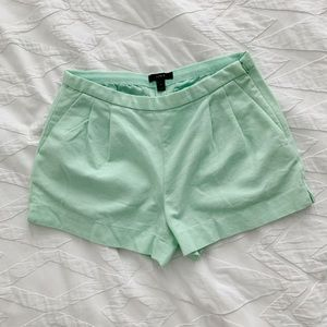 J Crew high waisted shorts size 2